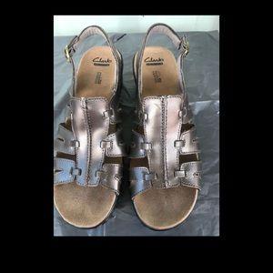 Women Clark's shoes size 10